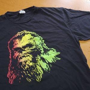 Star Wars Rasta Chewbacca t-shirt EUC